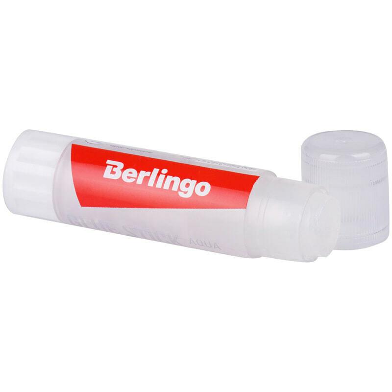 Клей-карандаш Berlingo, 08г, прозрачный