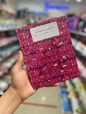 Дневники для младших кл. 48л. 7БЦ, мат. ламин Граффити (буквы) ДМФ184808