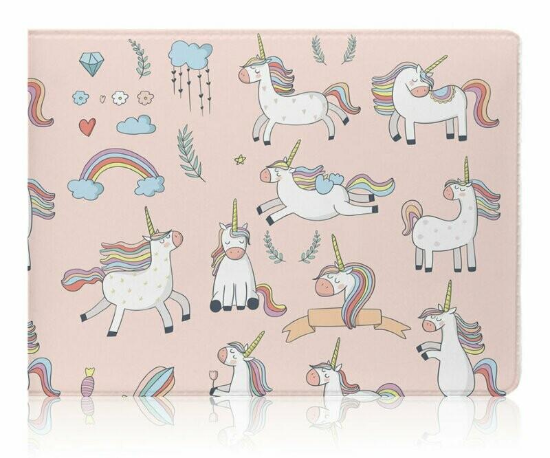 Обложка для студенческого Pink Unicorn 15148