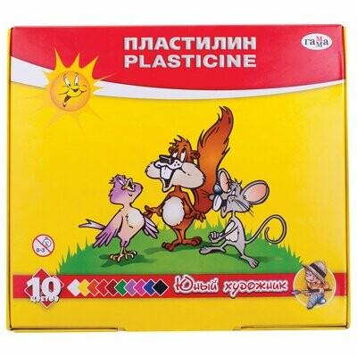Пластилин 10 цв.