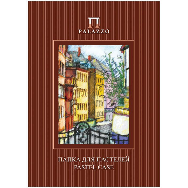 """Папка для пастелей 10л. А3 Лилия Холдинг """"Палаццо.Италия"""", 280г/м2, рисов. бумага, слоновая кость"""