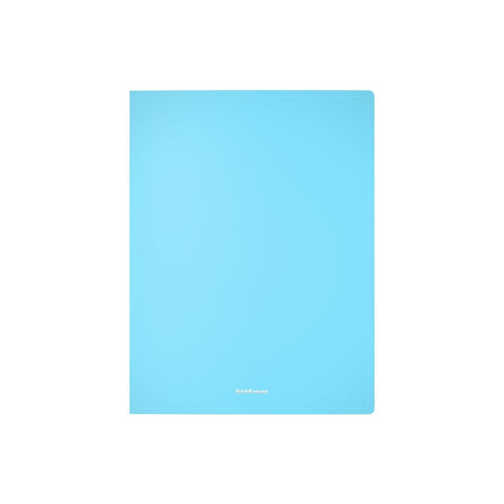 """Папка на 4 кольцах Erich Krause """"Pastel"""", 24мм, 600мкм, ассорти 49978"""