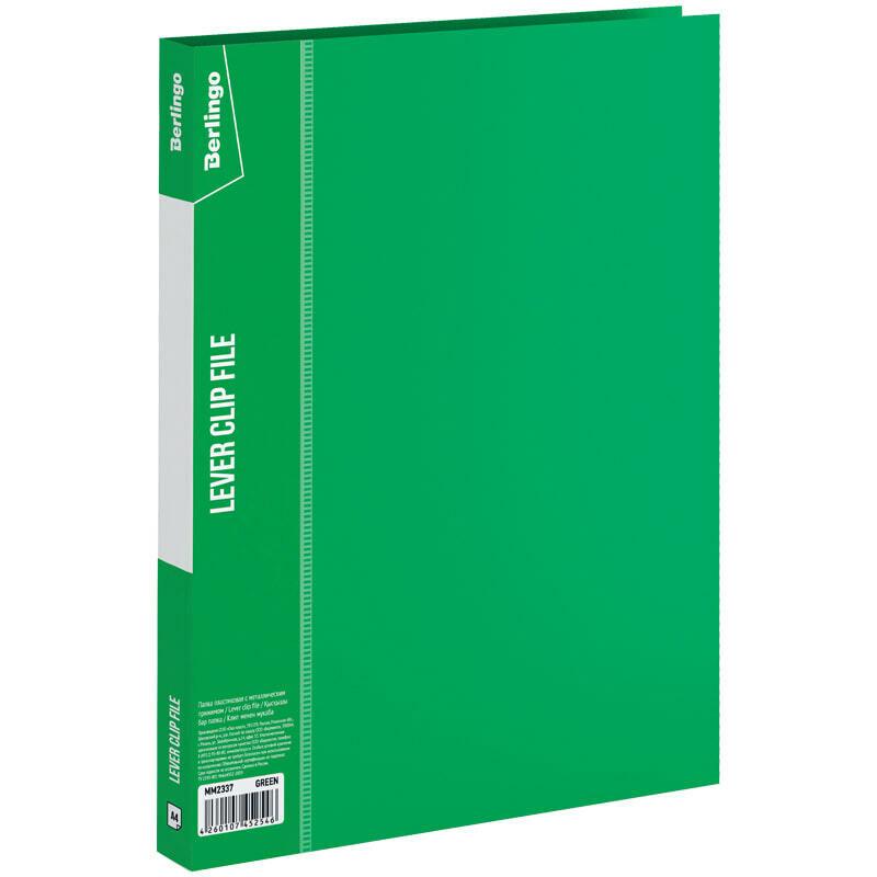 """Папка с зажимом Berlingo """"Standard"""", 17мм, 700мкм, зеленая"""