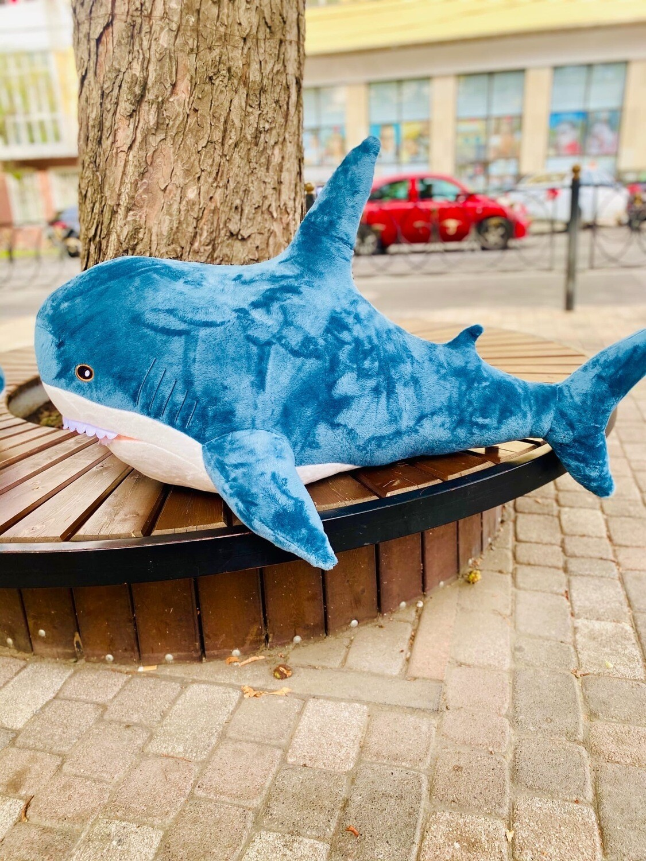 "Мягкая игрушка ""Акула"" гигант. 140см."