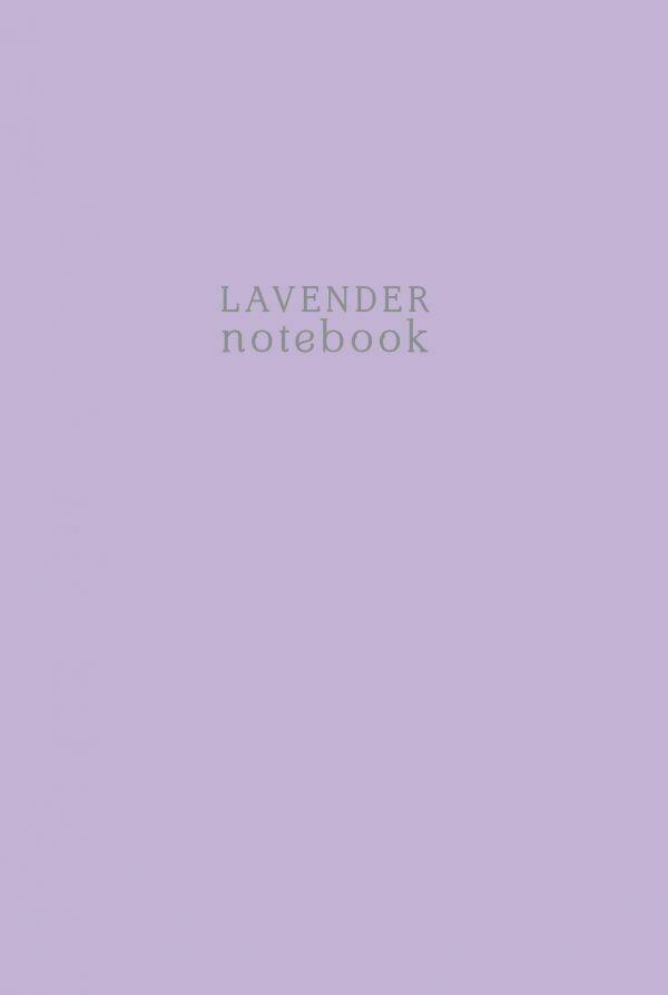 Lavender notebook. Тетрадь (А4, 40 л., клетка-стандарт)
