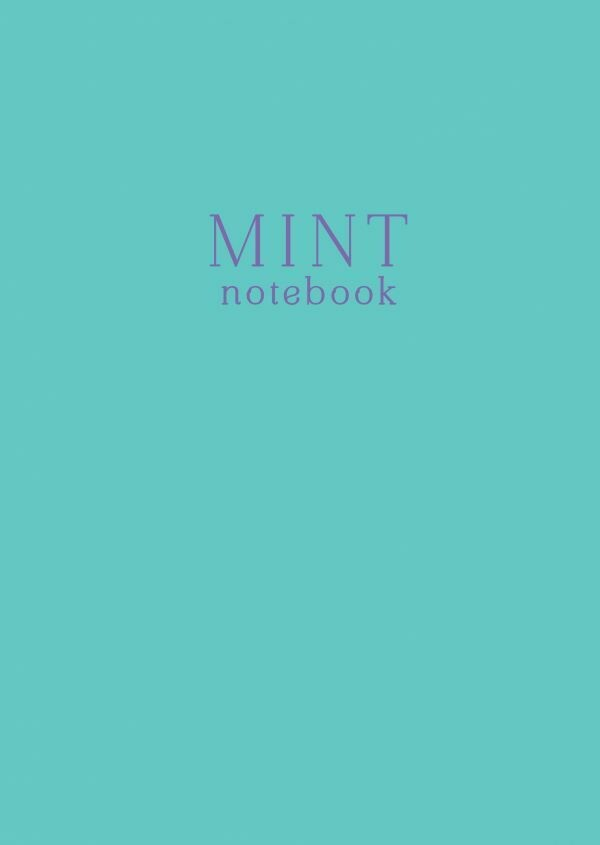 Mint notebook. Тетрадь (А4, 40 л., клетка-стандарт)
