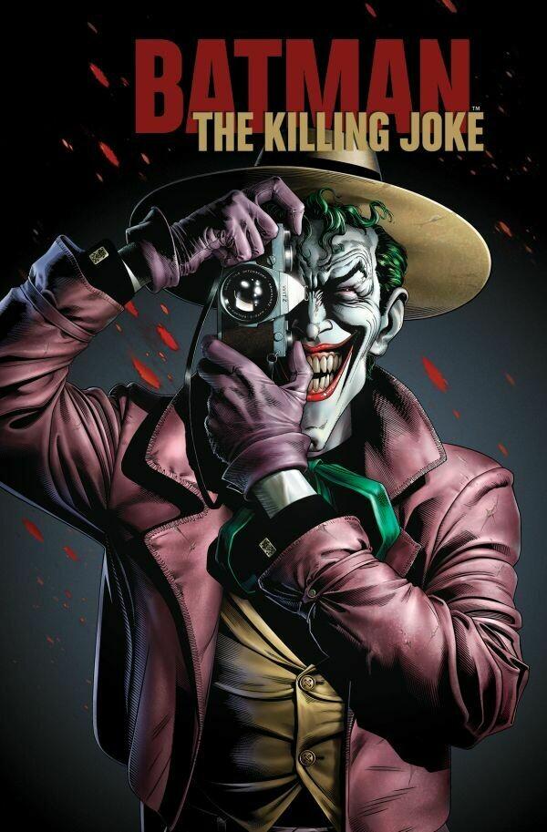 Блокнот. Джокер. The Killing Joke (формат А5, 160 стр., тонированный блок)