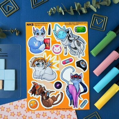MINI PACK OVERWATCH CATS