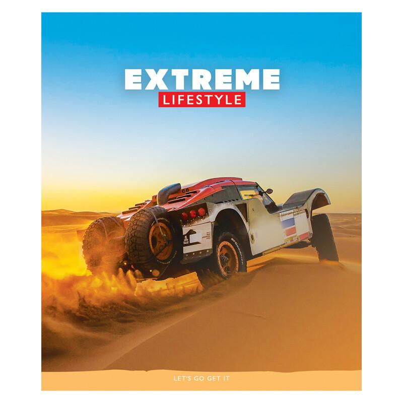 "Тетрадь 96л., А5, клетка ArtSpace ""Спорт. Extreme lifestyle"", ВД-лак 3"