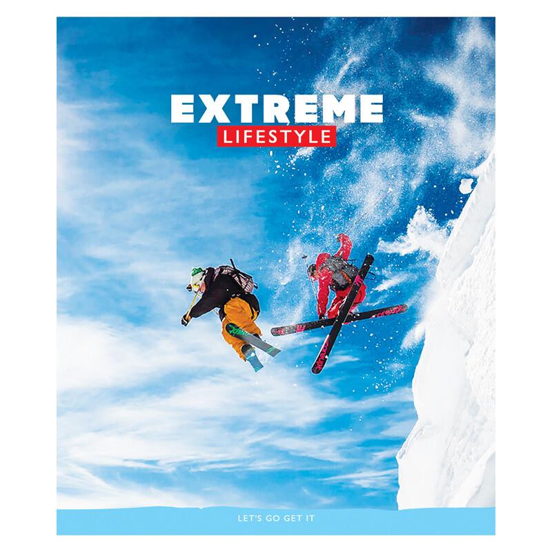 "Тетрадь 96л., А5, клетка ArtSpace ""Спорт. Extreme lifestyle"", ВД-лак 5"
