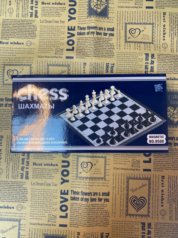 Шахматные на магнитах 3в1