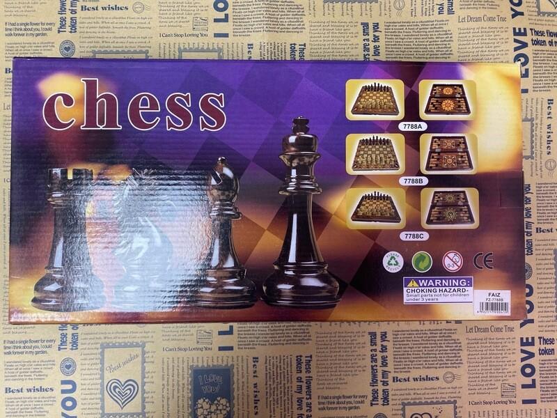 Шахматы LUX 3в1