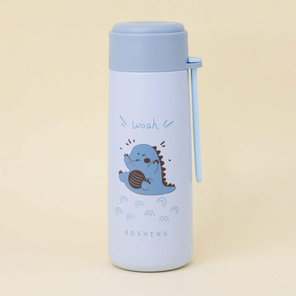 "Термос ""Miani Woah"", Dino blue (350ml)"