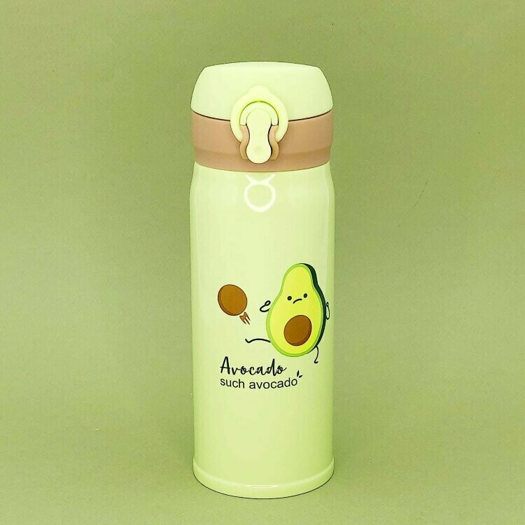 "Термос ""Avocado"", white-green 500ml"