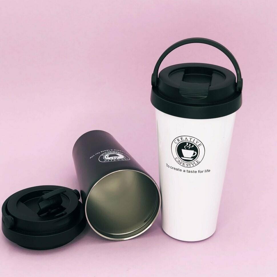 "Термокружка ""Coffee"", white (480ml)"