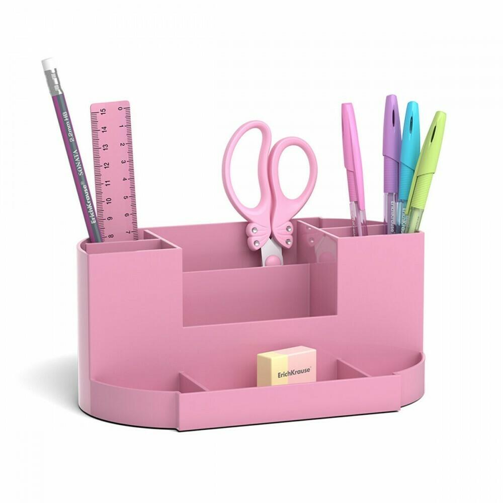 Канцелярский набор 8пр Erich Krause Victoria Pastel розовый