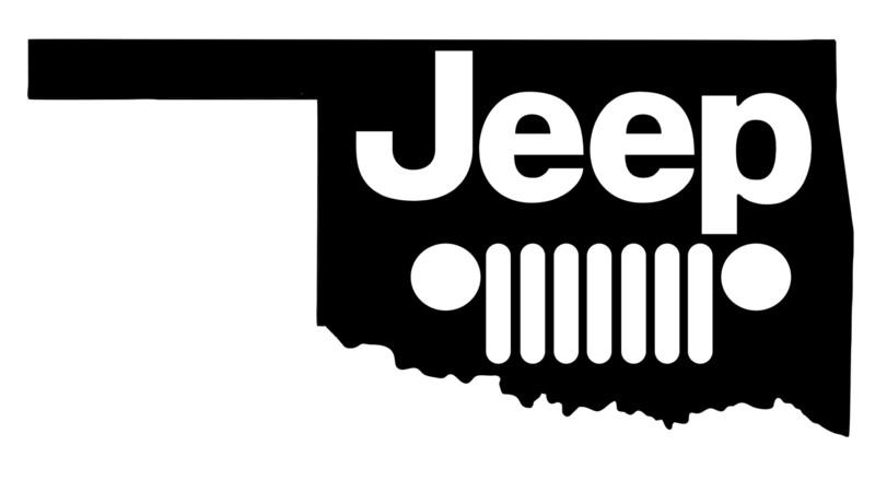 Oklahoma Jeep Vinyl Decal