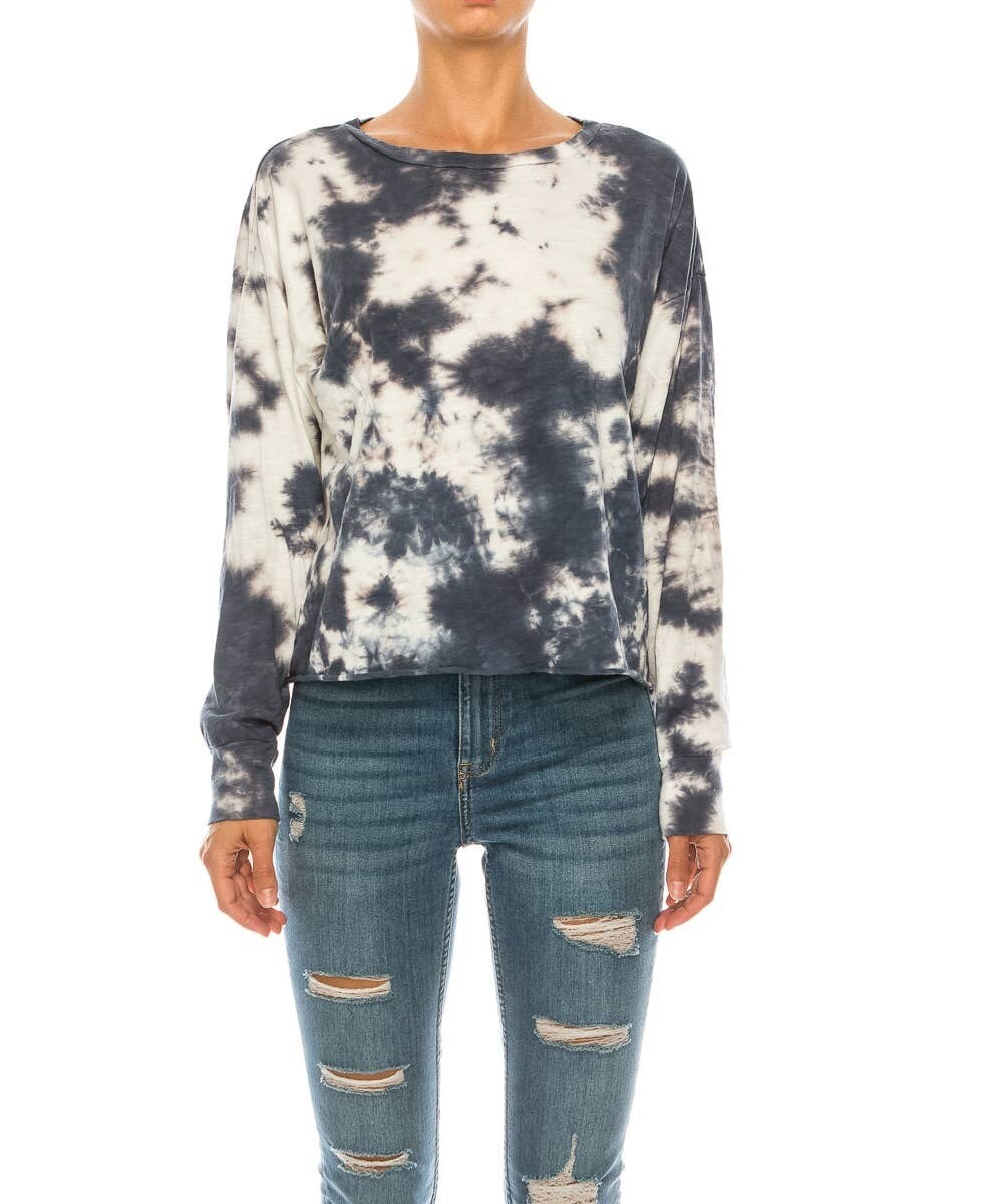 Tie Dye Pullover Long sleeve