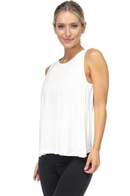 Free Yoga Tank (white)