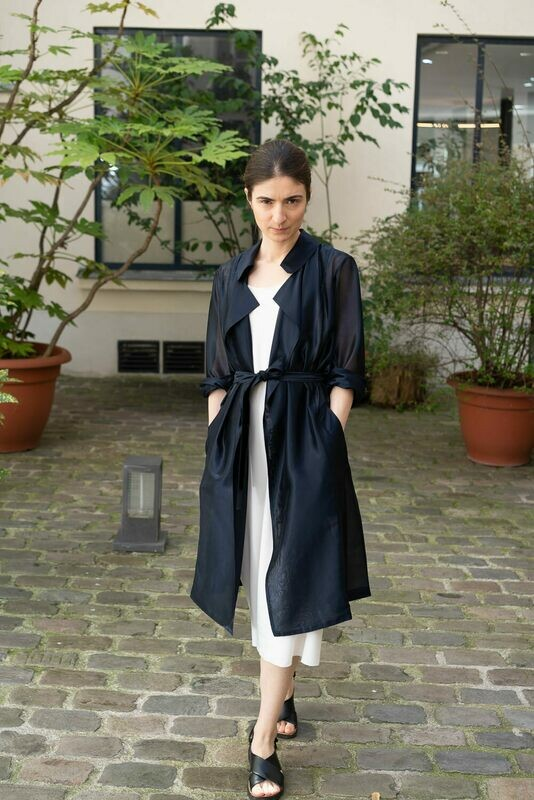 Lumière Sheer Trench