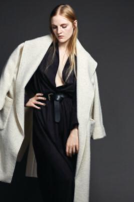 Oversized Belted Coat
