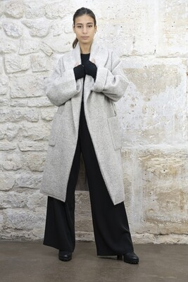 Oversized Wrap Coat