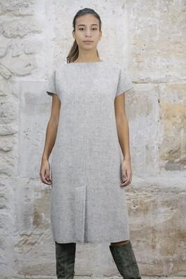 Midi Wool Dress