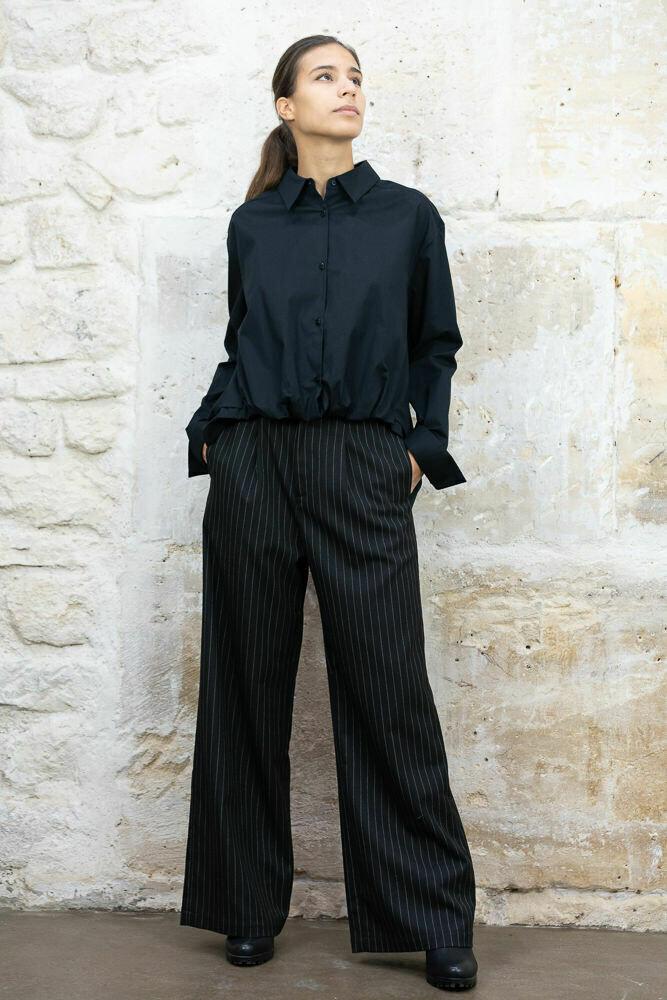 Wool Button-Down Shirt