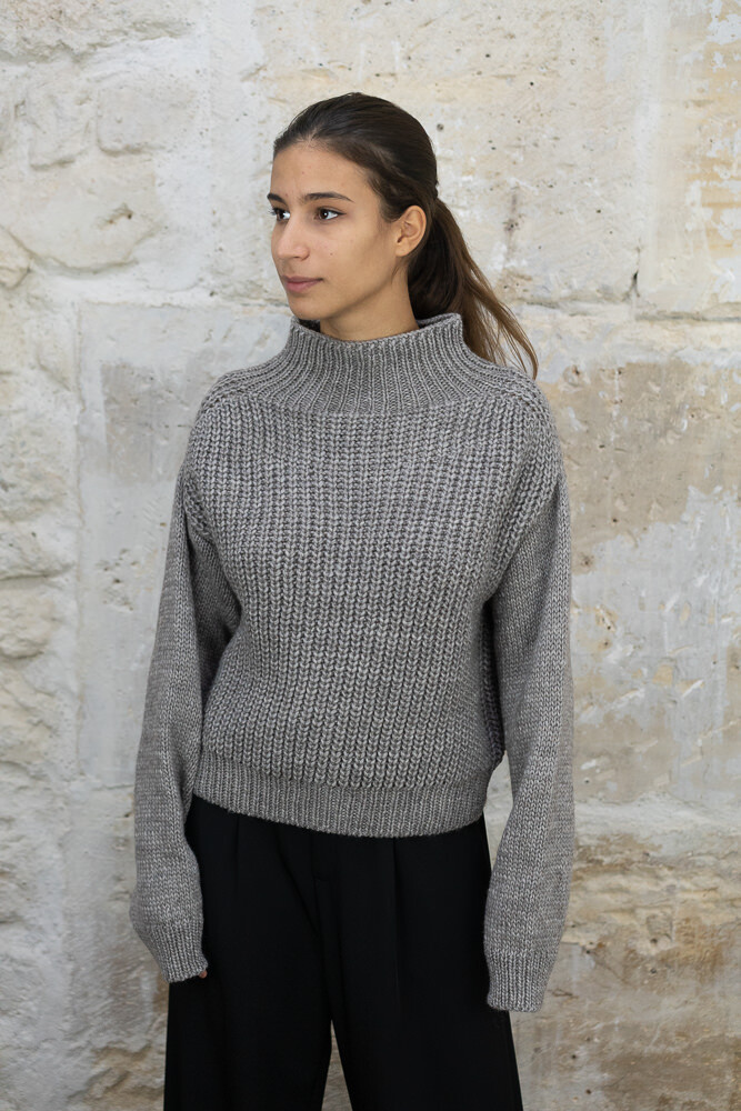 Ribbed-Knit Sweater - Long