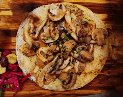 Wild Mushroom 'Manakeesh' [served hot]