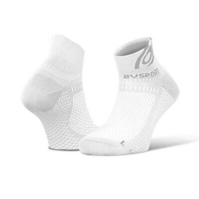 BV SPORT - Calze Corte running light 3D Bianco