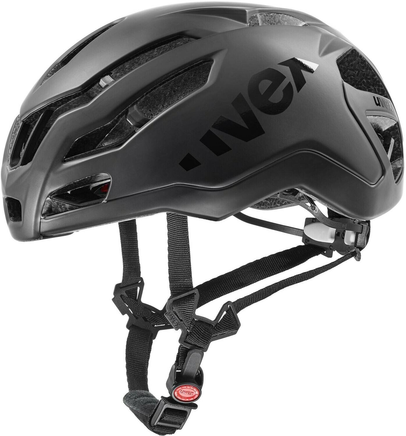 Casco Uvex Race 9 total black