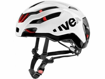 Casco Uvex Race 9 white