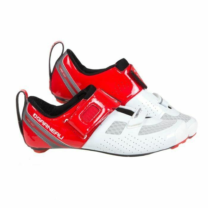 Scarpe da bici Garneau TRI X-LITE II White-red