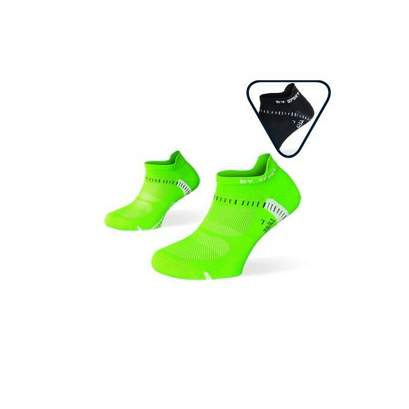 PACK X2 - CALZE RUNNING ULTRACORTE LIGHT ONE VERDE-NERO