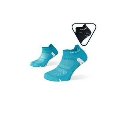 BV SPORT - PACK X2 - CALZE RUNNING ULTRACORTE LIGHT ONE BLU-NERO