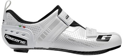 Scarpe da bici-triathlon Gaerne Kona bianco