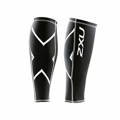 2XU compression calf guards black
