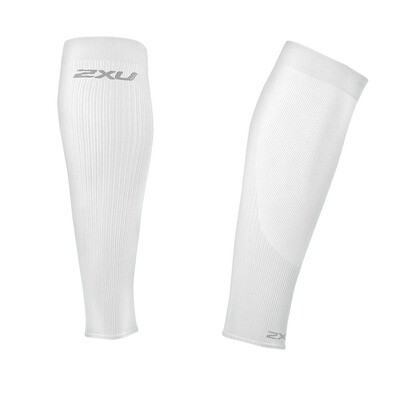 2XU compression performance run sleeves white