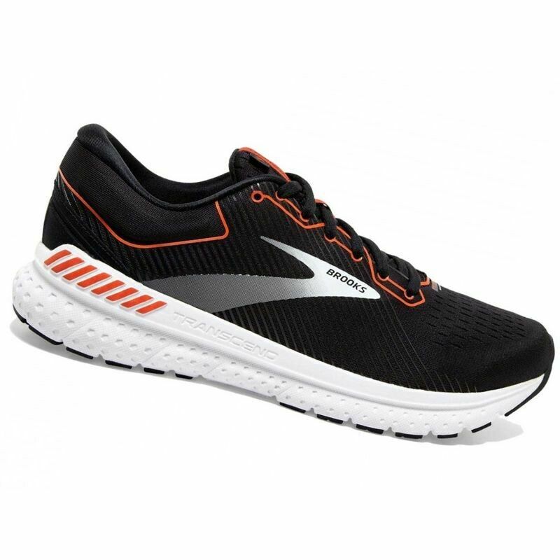 BROOKS - Transcend 7 nero-arancio