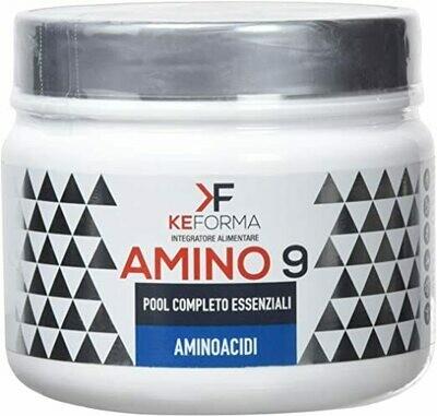 KEFORMA - AMINO9 - È un integratore alimentare costituito da tutti gli aminoacidi essenziali (EAA)