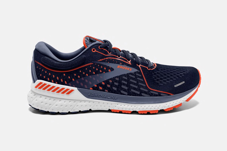 BROOKS - Adrenaline GTS 21 Navy/Red Clay/Gray