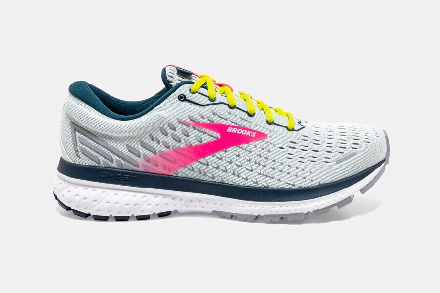 BROOKS - Ghost 13  Ice Flow/Pink/Pond