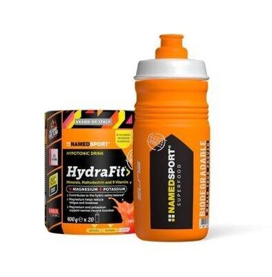 NAMED - Namedsport Hydrafit 400g + Sportbottle Hydra2Pro 2021
