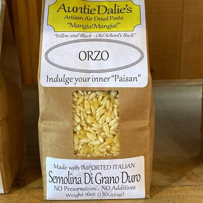 Orzo | Auntie Dalie's Pasta