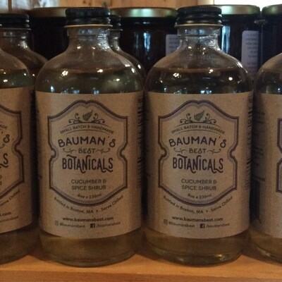 Cucumber & Spice Shrub | Bauman's Best