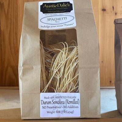 Spaghetti | Auntie Dalie's Pasta