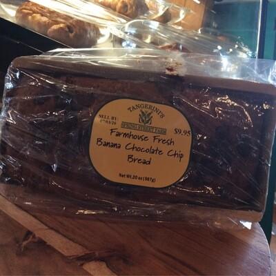 FP Banana Chocolate Chip Bread