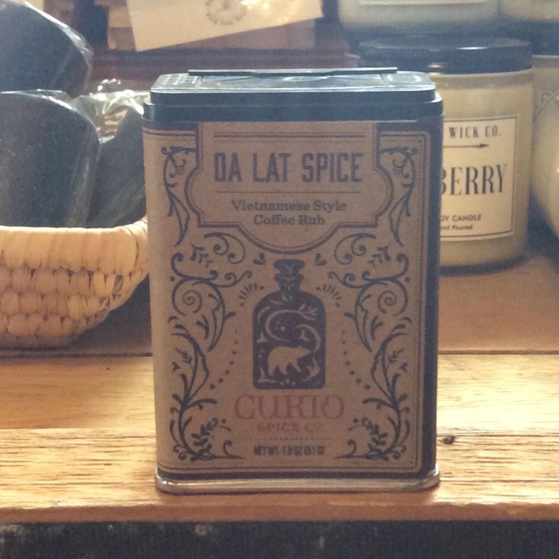 Curio Da Lat Spice - Bold Vietnamese Style Coffee & Spice Rub