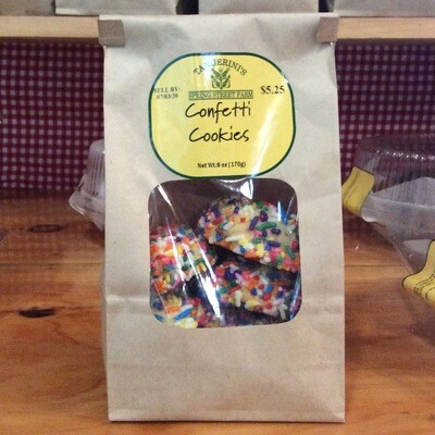 FP Confetti Cookies  | 6 Pack